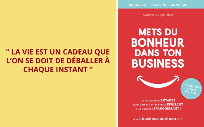 Mets du bonheur dans ton business - Version papier