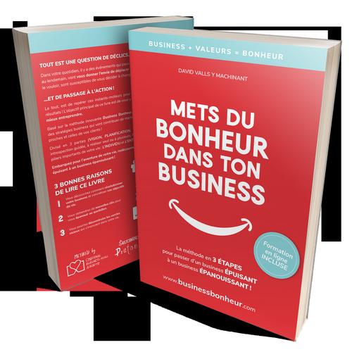 Livre Mets du bonheur dans ton business