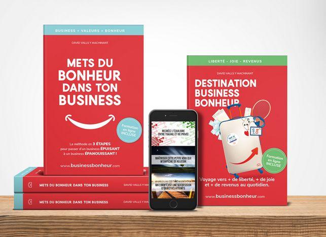 Les livres entreprises de l'académie Business Bonheur